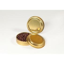 Lata metálica para Caviar 12 uds.