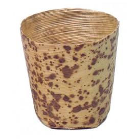 Vasitos de bambú grande 100 uds