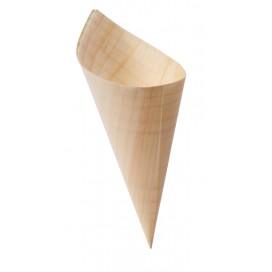 Cono de madera 100 uds