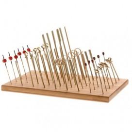 Presentador bambú 20 uds.