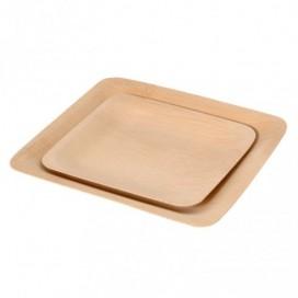 Plato pequeño corteza bambú 48 uds