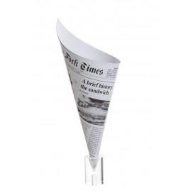 Cono de Periódico Gigante