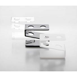 Gradilla plexiglás para tubos de ensayo