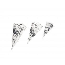 Cucurucho papel periódico M 200 uds.