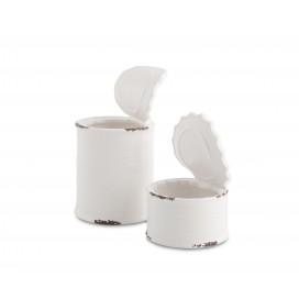 Lata porcelana XL 4 uds