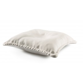 Plato porcelana The Pillow 2 uds