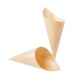 Cono de madera 17 cm 1000 uds