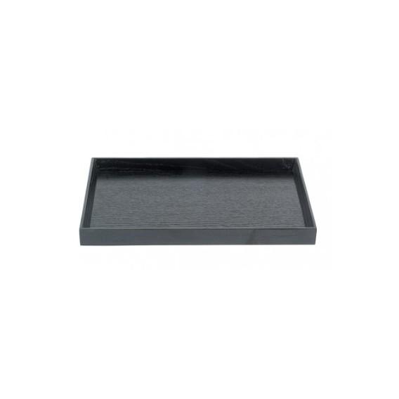 Bandeja negra 40x30 cm 15 uds.