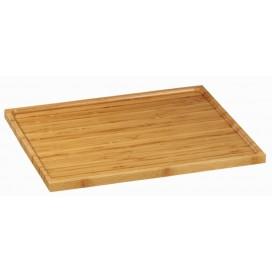 Bandeja maciza bambú XL 20 uds