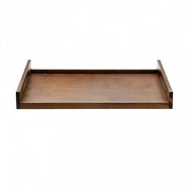 Bandeja de madera XL 4 uds