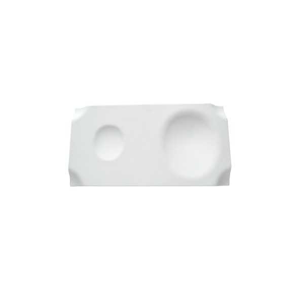 Jo Plate Porcelain Matt 4 uds